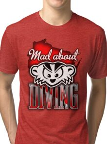 Mad About Diving Tri-blend T-Shirt