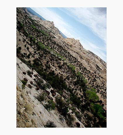 Dry Hollow Curves Photographic Print
