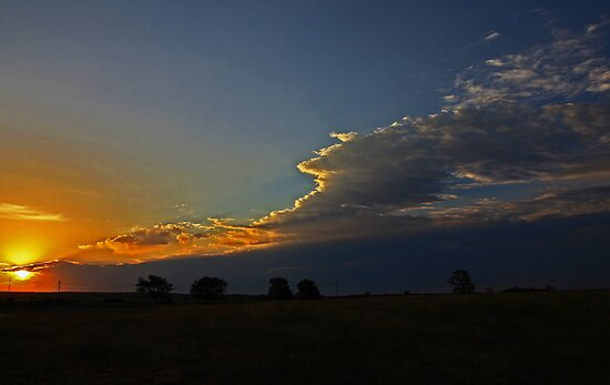 Hill Farm Sunrise by JLBphoto