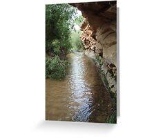 Deer Creek Greeting Card
