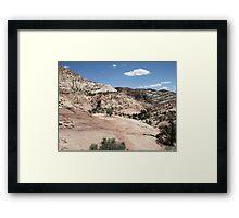 Haymaker Bench Drainage Framed Print