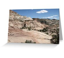 Haymaker Bench Drainage Greeting Card