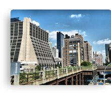 The High Line Canvas Print