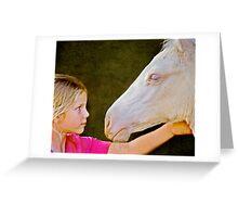 The Little Horse Whisperer Greeting Card