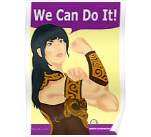 Xena the Riveter Poster