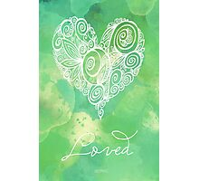 Heart Chakra - Loved Photographic Print