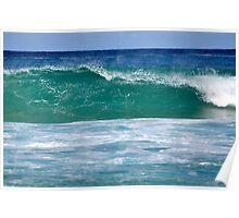 Bondi Beach Wave Poster