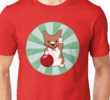 Maneki Corgi (Fawn) Unisex T-Shirt