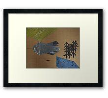 Achitectural Landscape Framed Print
