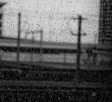 Rainy Day Train © Vicki Ferrari Photography by Vicki Ferrari