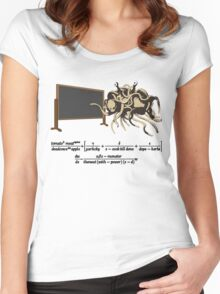 The Flying Spaghetti Monster Equation Women's Fitted Scoop T-Shirt