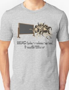 The Flying Spaghetti Monster Equation Unisex T-Shirt