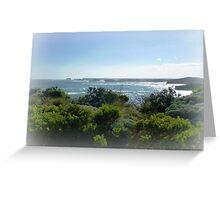 Bay of Martyrs, Great Ocean Road, Vic. Greeting Card