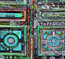 Parisian Mosaic - Piece 18 - Artisan Door by Igor Shrayer