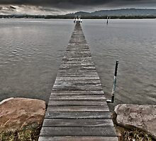 The Jetty by David Geoffrey Gosling (Dave Gosling)