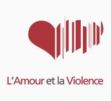Love and Violence Baby Tee