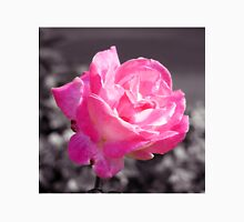 Single Pink Rose Unisex T-Shirt