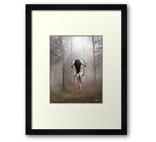 Enlighten My Soul Framed Print