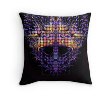 Alien Mask 7s7j7xj Throw Pillow