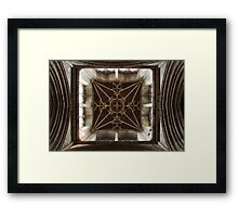 Tower Interior - St Laurence`s Ludlow Framed Print