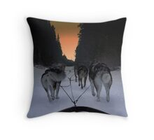 The Team Throw Pillow