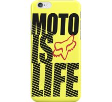 moto is life iPhone Case/Skin
