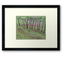 Enchanted patch Framed Print
