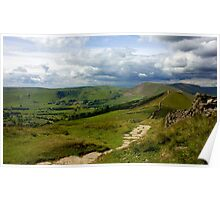 The Great Ridge, Hope Valley. Poster