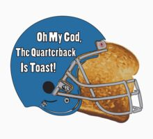 Oh My God, The Quarterback Is Toast! Baby Tee