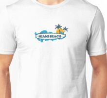 Miami Beach. Unisex T-Shirt