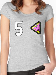 Dino Charge/Kyoryuger Pink Women's Fitted Scoop T-Shirt