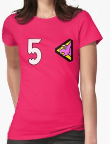 Dino Charge/Kyoryuger Pink Womens Fitted T-Shirt