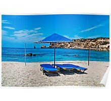 GREECE ,TRIOPETRA, CRETE, .... - (1) Poster