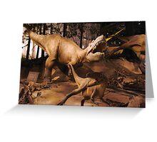Special Albertosaurus Greeting Card