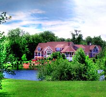 House on the Pond by Marcia Rubin
