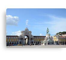 Lisbon Details Canvas Print