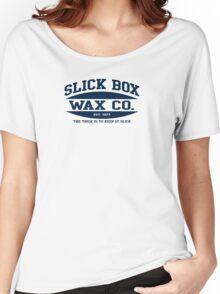 SLICK BOX Women's Relaxed Fit T-Shirt