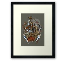 Queen Boudica and Her Daughters Framed Print