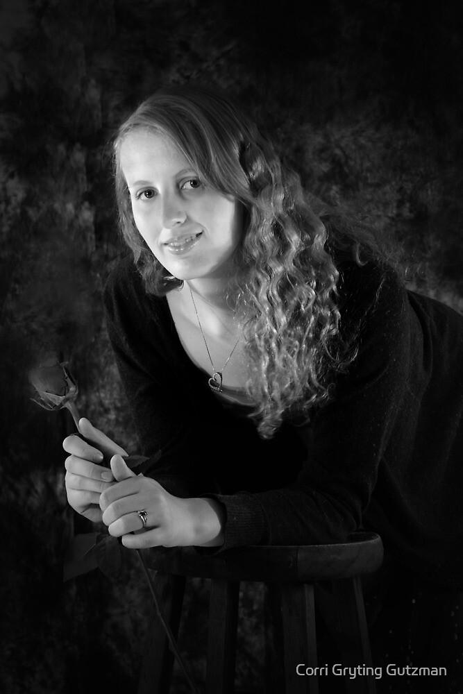 Tricia Portrait 2 by Corri Gryting Gutzman