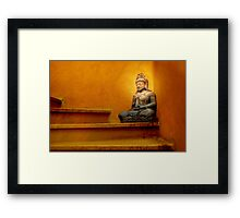 Steps to Enlightenment Framed Print