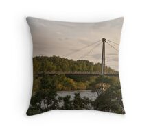 Crossing the Bow Throw Pillow