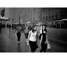 Shower on 7th avenue Photographic Print