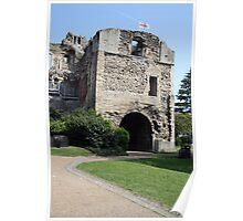 newark castle  - newark nottinghamshire - england Poster