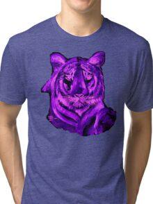 AAG1  PURPLE TIGER  Tri-blend T-Shirt
