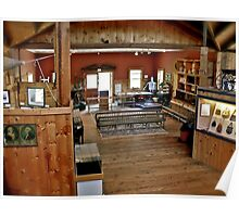 South County Museum - In The Barn - Narragansett, Rhode Island Poster
