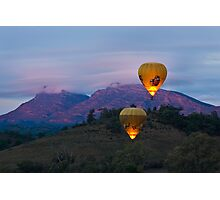 Ballooning near Wilpena Pound, Flinders Ranges South Australia Photographic Print