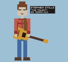 Stephen Stills - The Talent - 8-Bit by Alexander Wilson