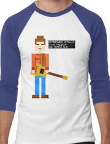 Stephen Stills - The Talent - 8-Bit Men's Baseball ¾ T-Shirt