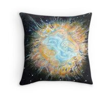 Entwined Celtic Galaxy  Throw Pillow