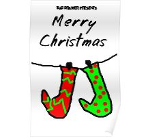 Bad Drawer Presents Stockings Poster